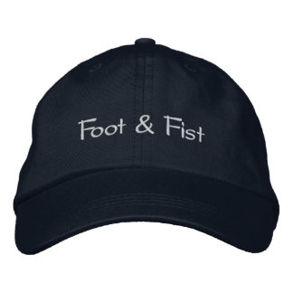 Gorra de béisbol de la marina de guerra - pie y pu