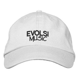 Gorra de béisbol de la música de EVOLSI