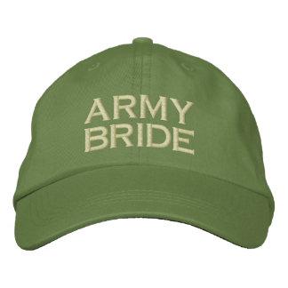 Gorra de béisbol de la novia del bordado