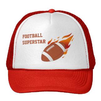 Gorra de béisbol de la superestrella del fútbol