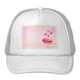 Gorra de béisbol de la vida del corazón