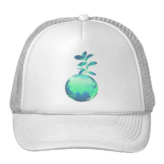 Gorra de béisbol de la vida vegetal