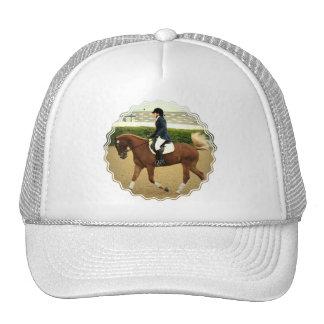 Gorra de béisbol de las extensiones del Dressage