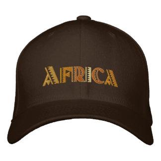 Gorra de béisbol de los colores de tierra de Áfric