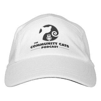 ¡Gorra de béisbol de los gatos de la comunidad! Gorra De Alto Rendimiento