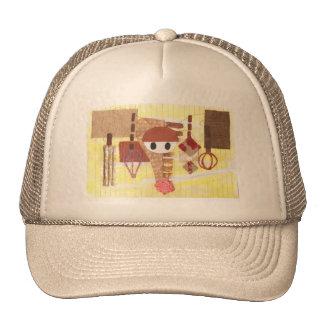 Gorra de béisbol de los oídos del reno
