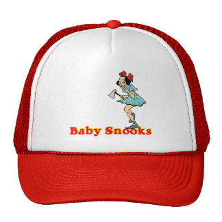 Gorra de béisbol de los Snooks del bebé