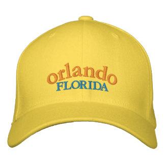 Gorra de béisbol de Orlando la Florida bordada