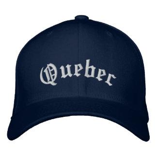 Gorra de béisbol de Quebec