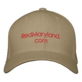 gorra de béisbol de RedMaryland.com
