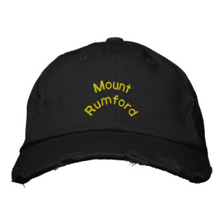 Gorra de béisbol de Rumford del soporte