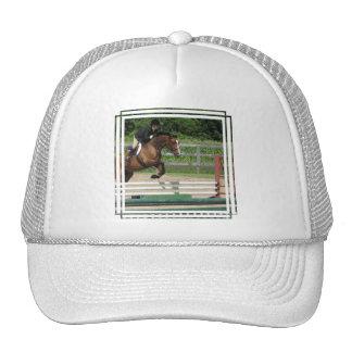 Gorra de béisbol de salto del caballo