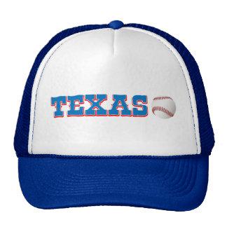 Gorra de béisbol de Tejas