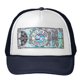 Gorra de béisbol del camionero con la bandera