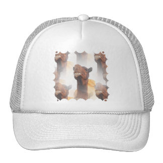Gorra de béisbol del collage del camello