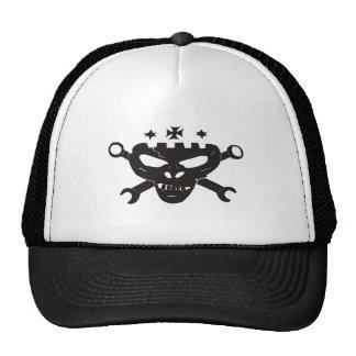Gorra de béisbol del cráneo