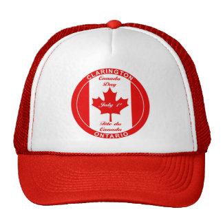 Gorra de béisbol del DÍA CLARINGTON de CANADÁ