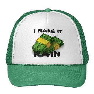 gorra de béisbol del dinero