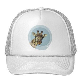 Gorra de béisbol del diseño de la jirafa
