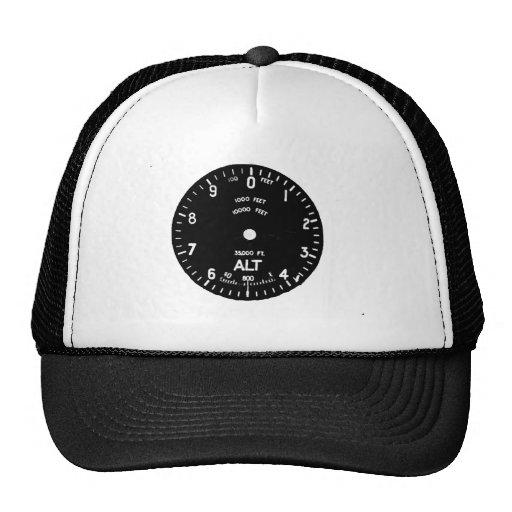 Gorra de béisbol del diseño del altímetro