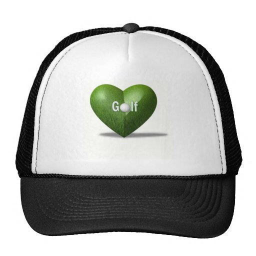 Gorra de béisbol del diseño del amante del golf