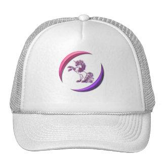 Gorra de béisbol del diseño del unicornio