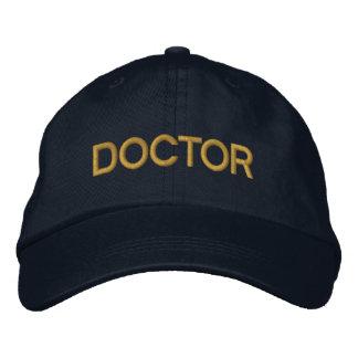 Gorra de béisbol del doctor Embroidered - marina