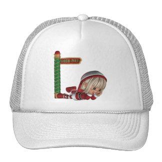 Gorra de béisbol del duende del navidad
