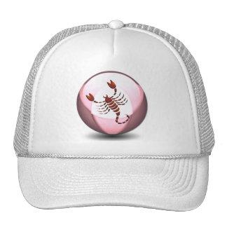 Gorra de béisbol del escorpión del escorpión