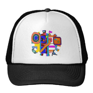 Gorra de béisbol del hombre de los medios