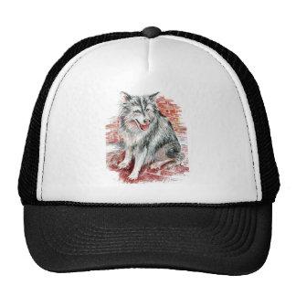 Gorra de béisbol del husky siberiano