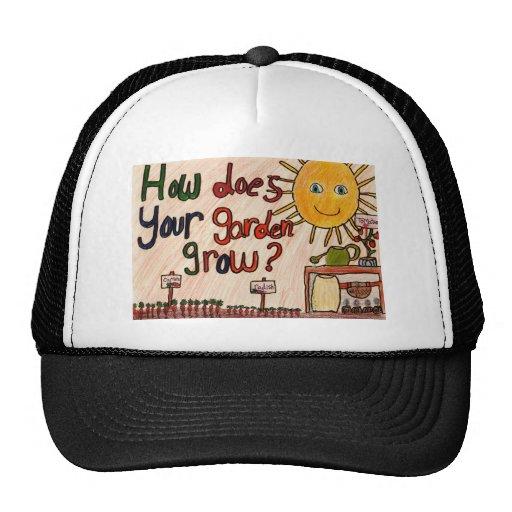 Gorra de béisbol del jardín