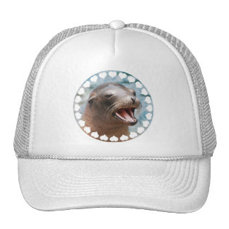 Gorra de béisbol del león marino de California