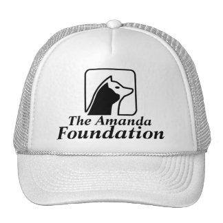 Gorra de béisbol del logotipo de la fundación de A
