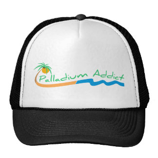 Gorra de béisbol del logotipo del adicto a Palladi