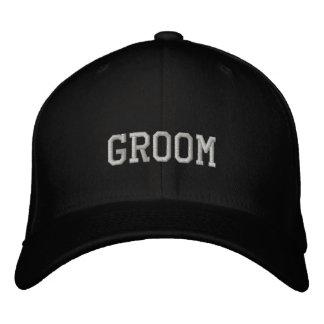 Gorra de béisbol del novio
