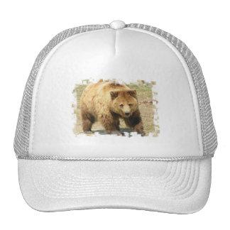 Gorra de béisbol del oso grizzly