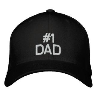 Gorra de béisbol del PAPÁ #1 para el día de padre
