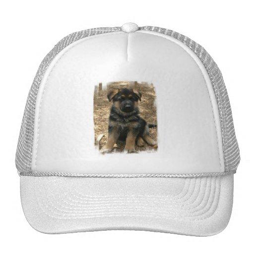 Gorra de béisbol del perrito del pastor