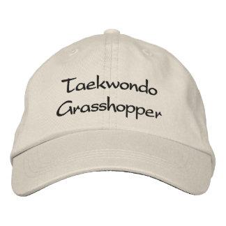 Gorra de béisbol del saltamontes del Taekwondo