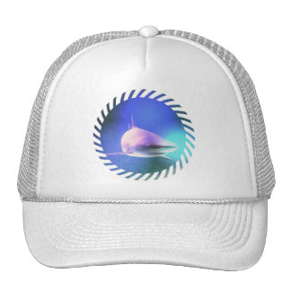Gorra de béisbol del tiburón del asesino