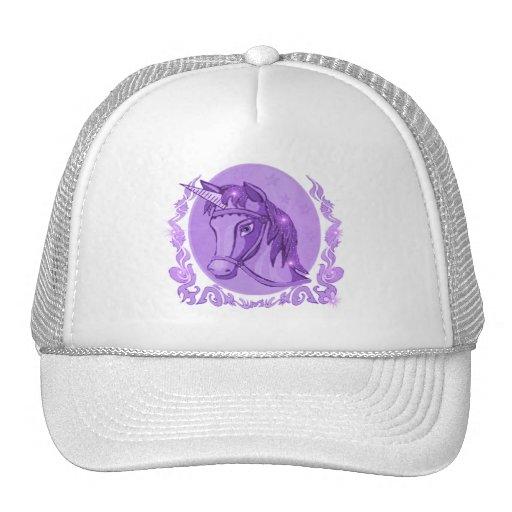 Gorra de béisbol del unicornio