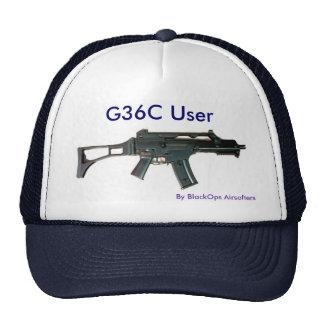 Gorra de béisbol del usuario de G36C