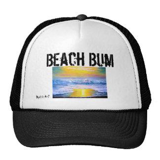 Gorra de béisbol del vago de la playa