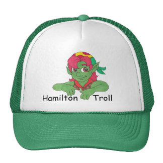 Gorra de béisbol del verde del duende de Hamilton