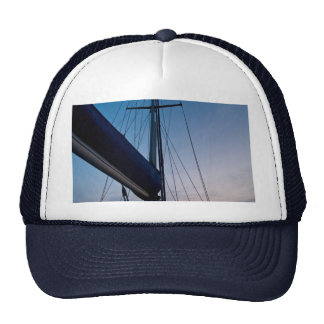 Gorra de béisbol encuadernada de regreso