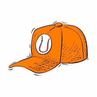 Gorra de béisbol escultura fotográfica