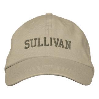 Gorra de béisbol/gorra bordados nombre de Sullivan