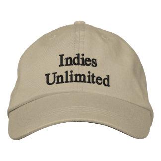 Gorra de béisbol ilimitada de los indies