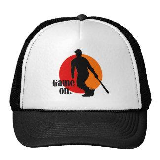 Gorra de béisbol: Juego encendido